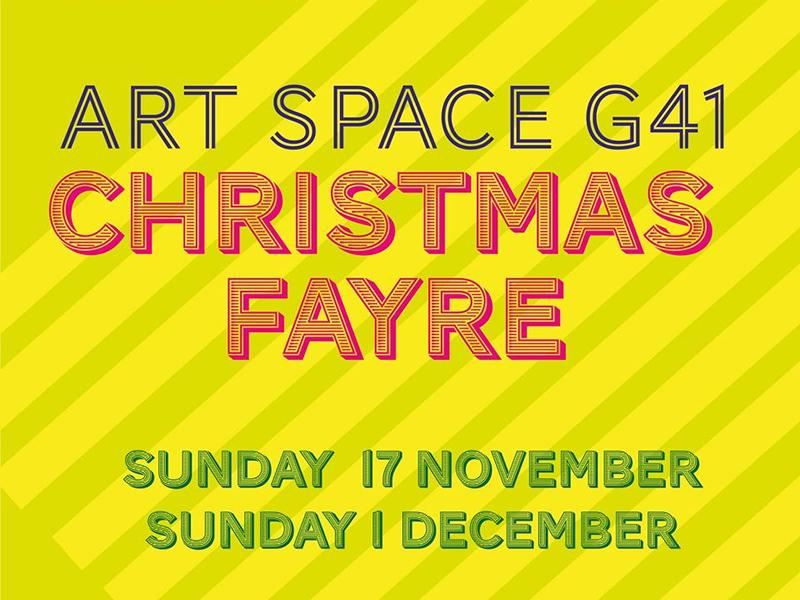Art Space G41 Christmas Fayres