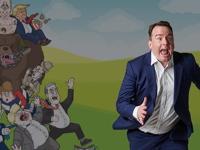 Matt Forde - Brexit Pursued By A Bear