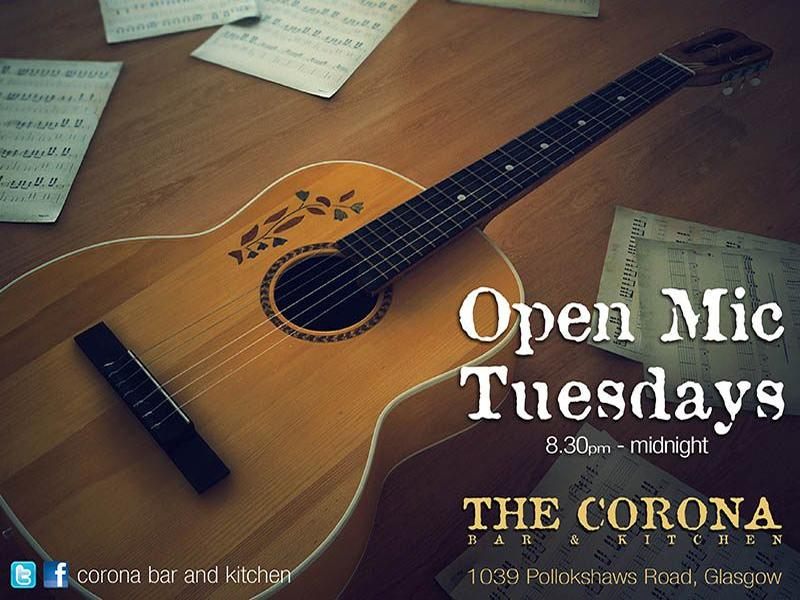 Open Mic Tuesdays with Southside Sessions