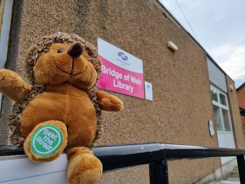 Beat the Street Renfrewshire will be supporting MND Scotland!