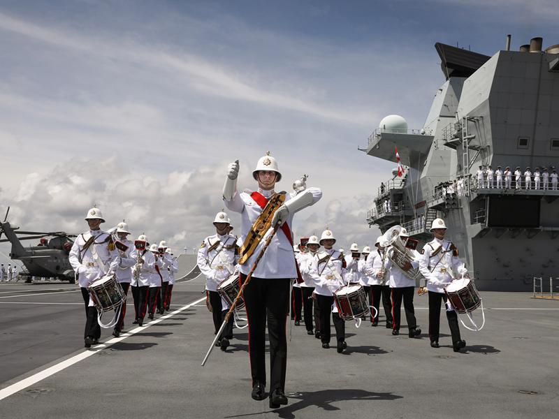 HM Band of The Royal Marines Scotland