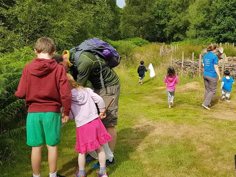 Summer Family Nature Club: Mini Beast Hunt