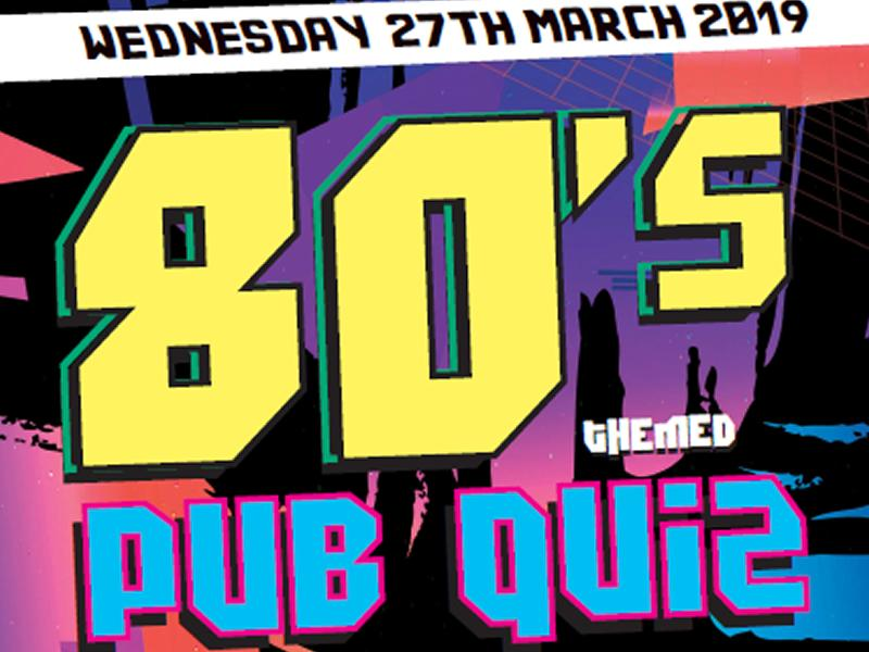 Kilbyde Hospice 80's Quiz at Saint Lukes and the Winged Ox