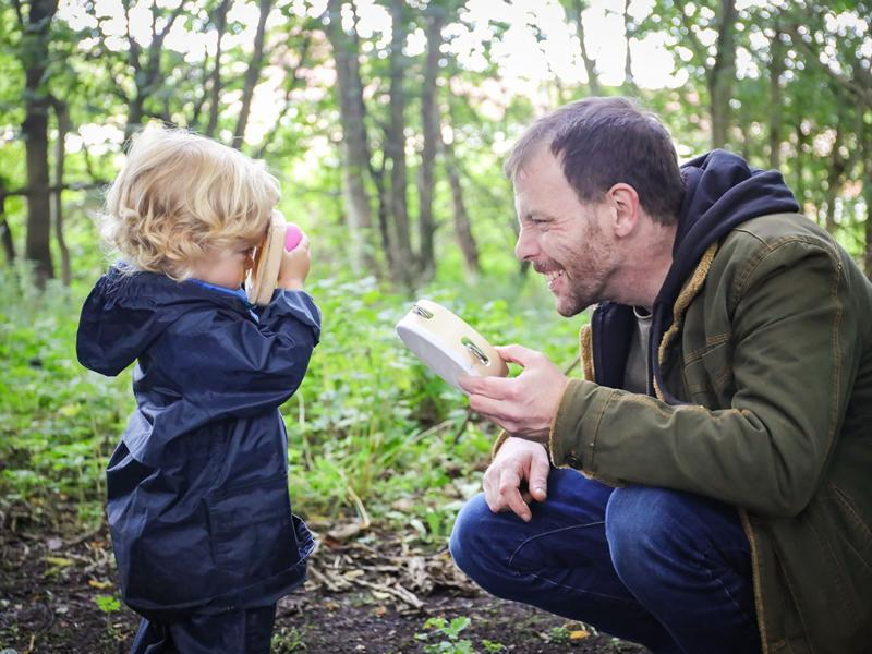 Group of dads transform Ruchazie Woodlands for community to enjoy