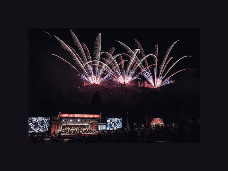 Edinburgh International Festival: Virgin Money Fireworks Concert