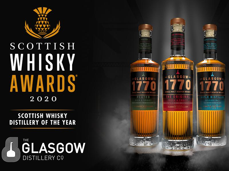 Glasgow Distillery win Scottish Whisky Distillery of The Year