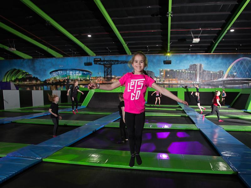 Jump into a year of unlimited trampolining