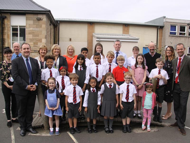 Top marks for Giffnock Primary and nursery