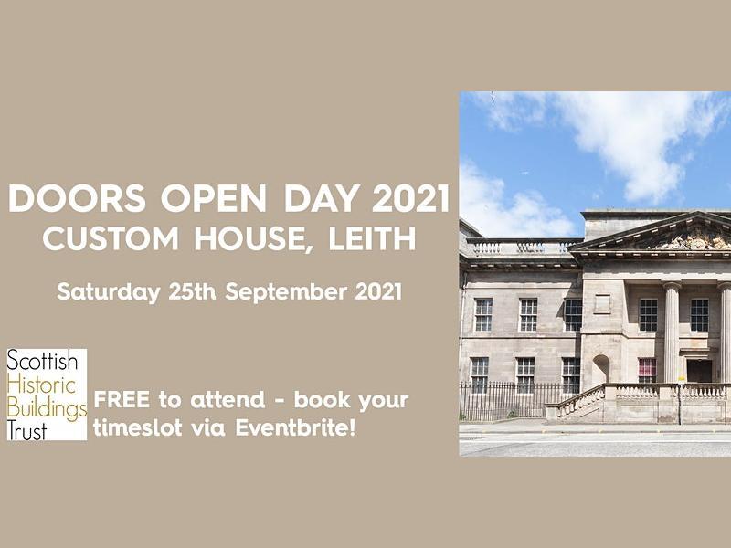 Doors Open Day - Custom House, Leith