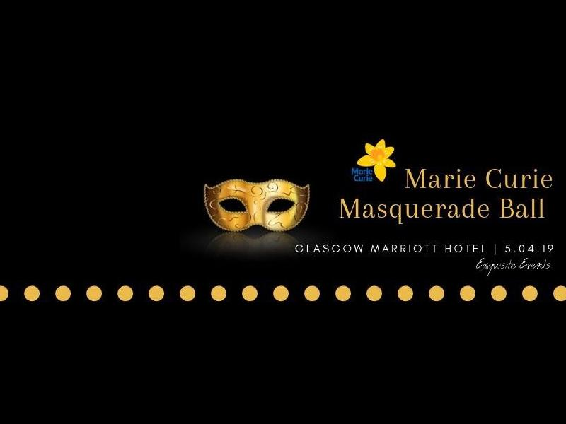 Marie Curie Masquerade Ball