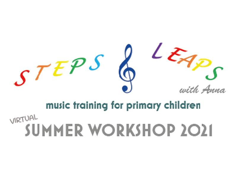 Steps and Leaps Music Virtual Summer Workshop