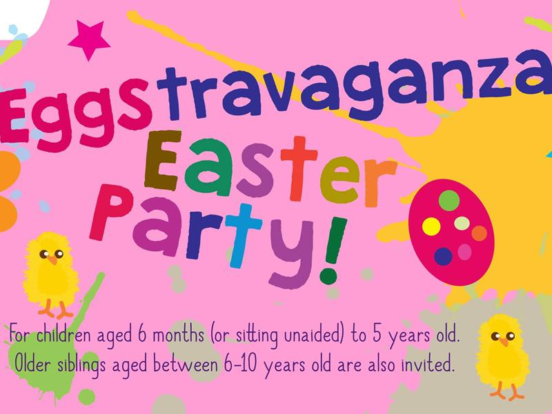 Eggstravaganza Easter Party - Messy Play Hamilton