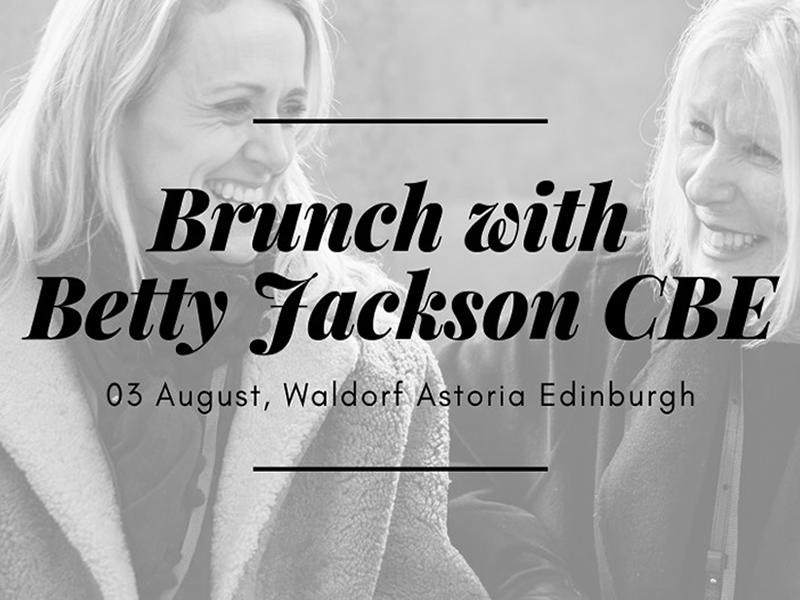 Brunch With Betty Jackson CBE - FULLY BOOKED