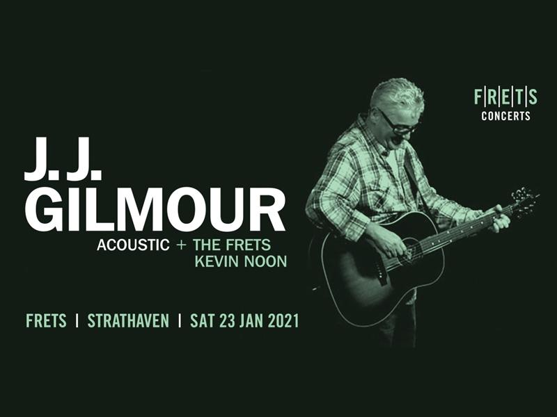 J.J. GILMOUR Acoustic Concert At FRETS