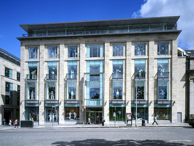 Harvey Nichols Reopens Edinburgh Store
