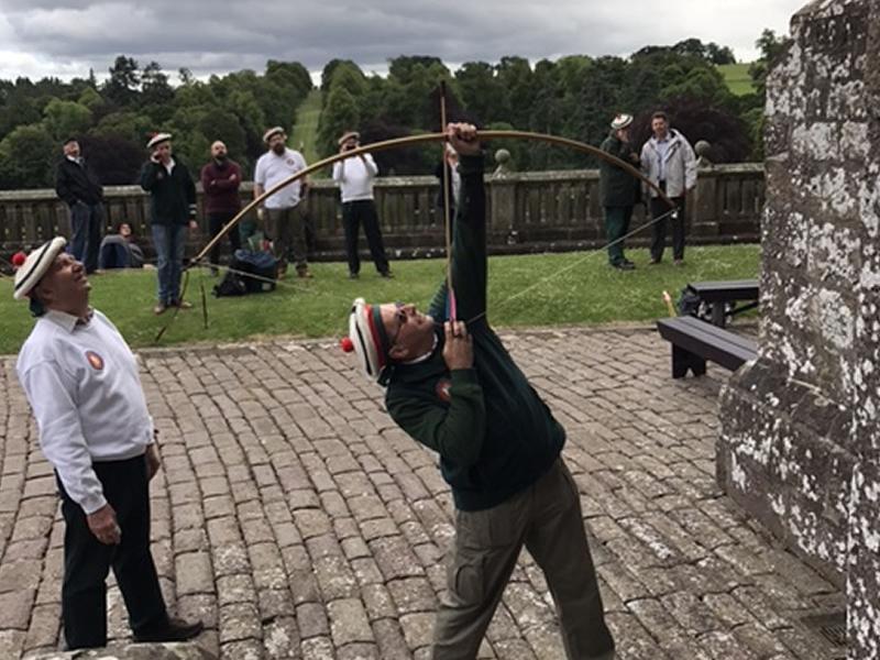 Ancient Archery Competition Returns to Drummond Castle