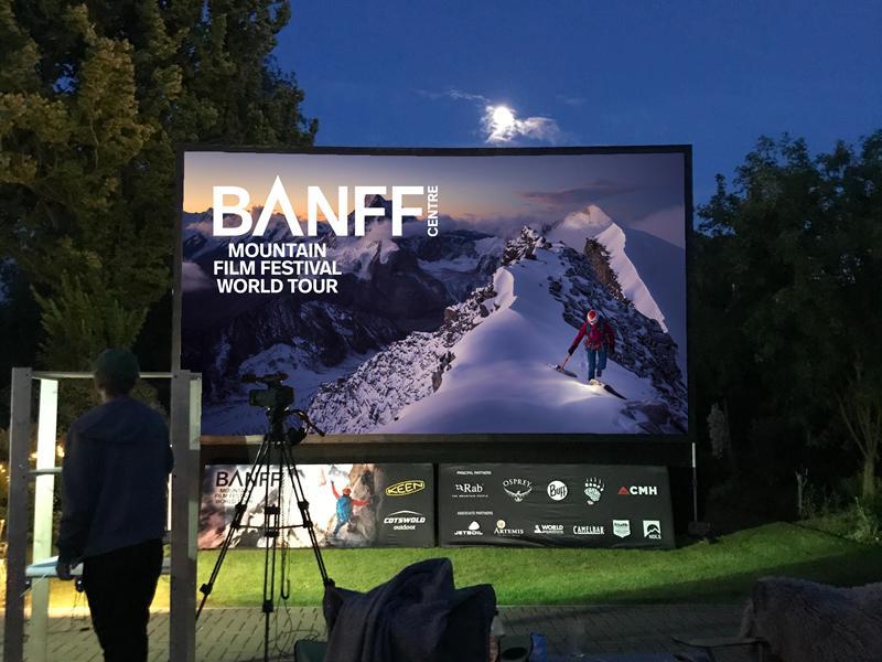 Banff Mountain Film Festival Backyard Theatre