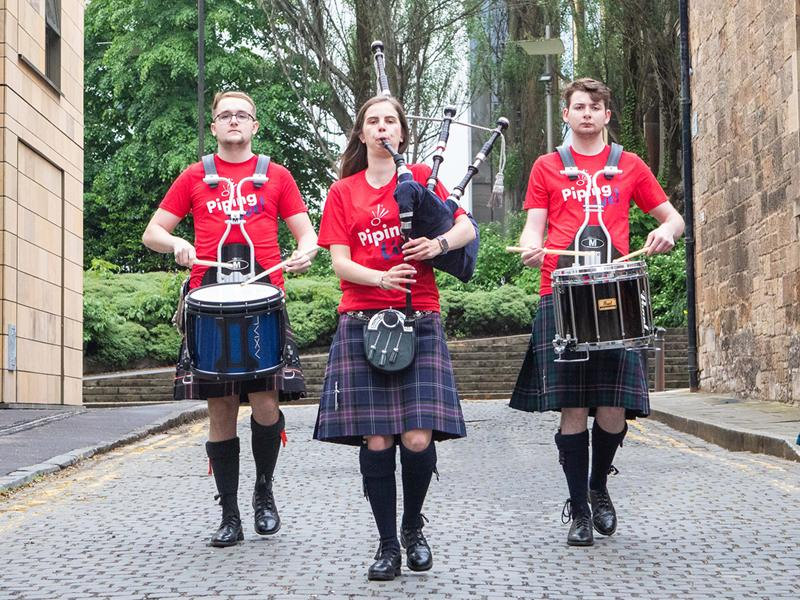 Full programme for Piping Live! unveiled as tickets for in person shows go on sale