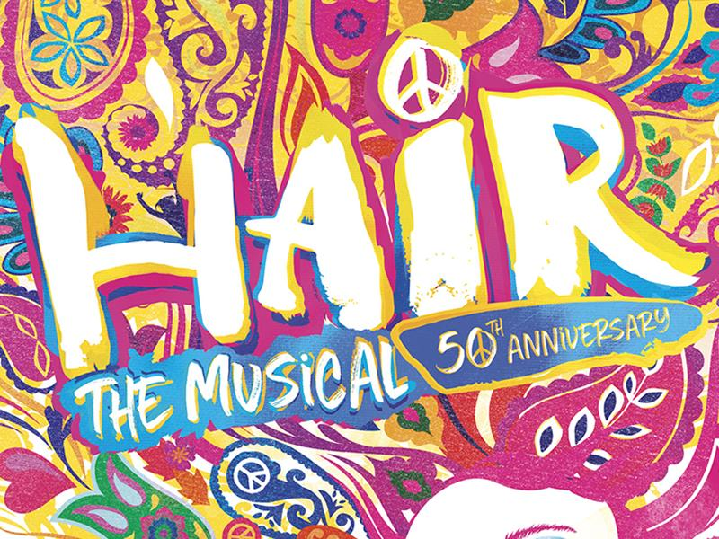 50th Anniversary Production Of Hair The Musical Coming To Edinburgh Playhouse