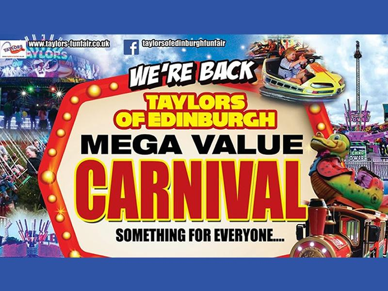 Taylor's Of Edinburgh Present: Falkirk Mega Value Carnival