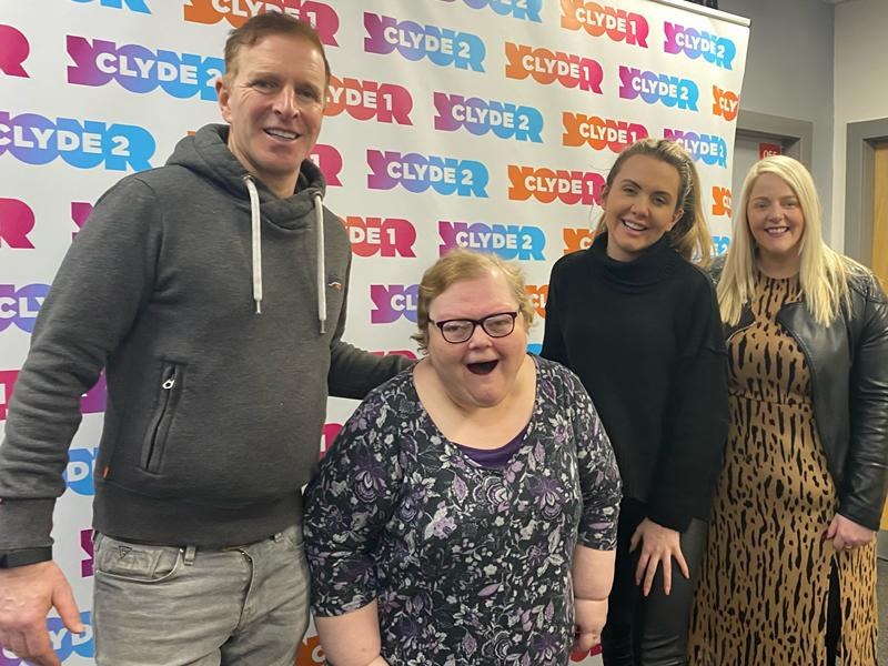 Cumbernauld woman takes to the airwaves and stars in radio ad