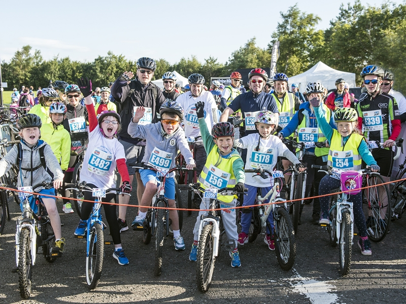 Pedal For Scotland: The Wee Jaunt - Edinburgh