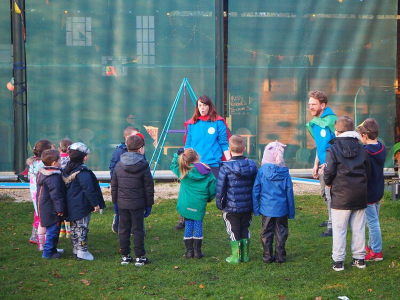 Outdoor Drama Workshops For Kids