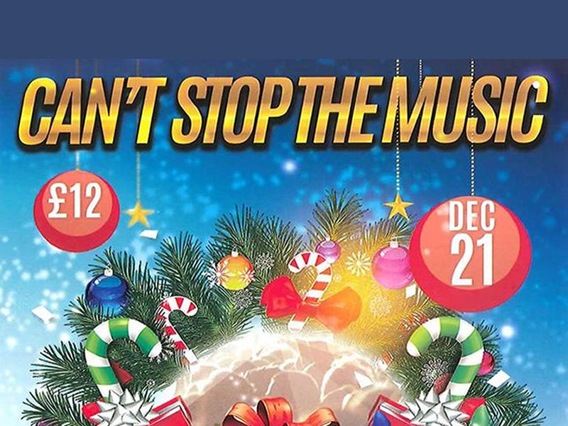 Can't Stop The Music Christmas Party