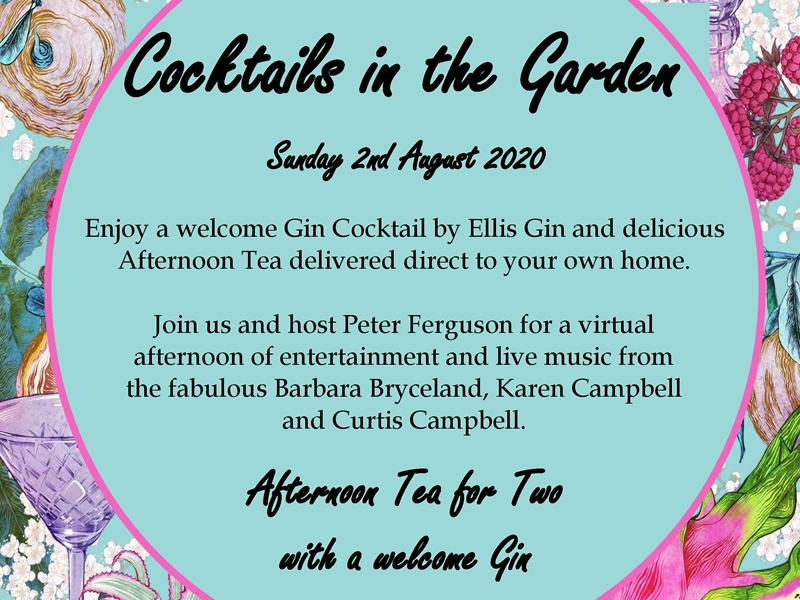 St. Vincent's Hospice - Cocktails in the Garden