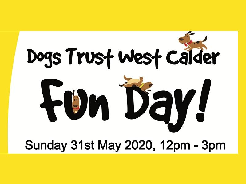 Dogs Trust West Calder Fun Day - CANCELLED