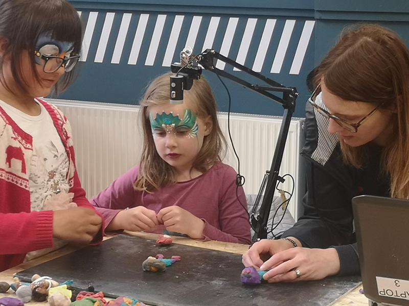 Stop Motion Animation Class with Indie Flynn
