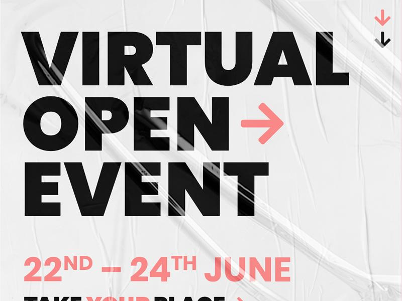 New College Lanarkshire Virtual Open Event