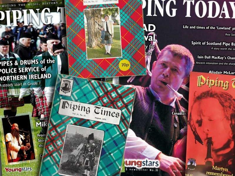 The National Piping Centre launch crowdfunding campaign to protect the legacy of their periodicals