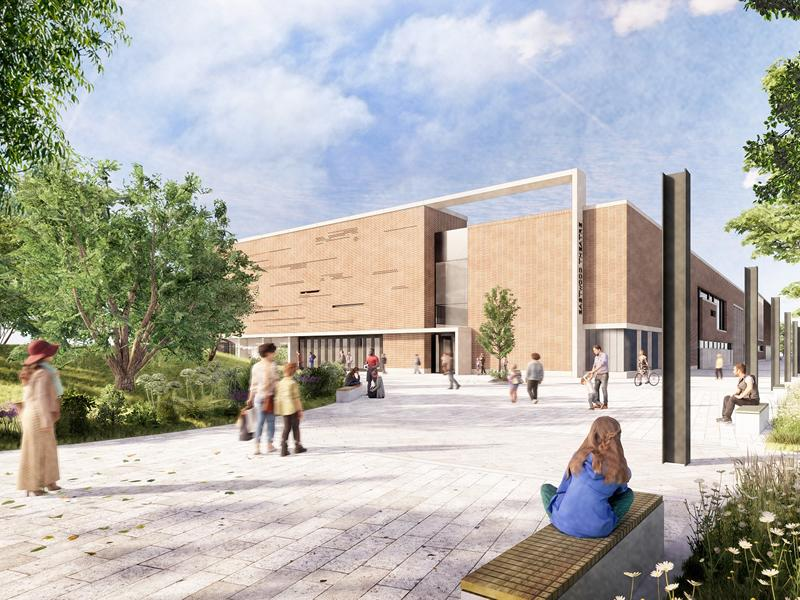 Plans submitted for new Eastwood Leisure Centre and theatre