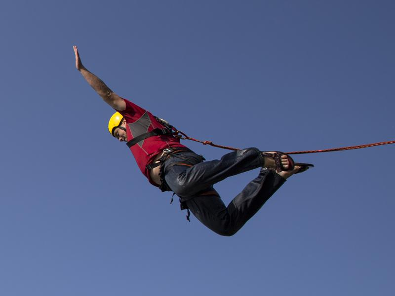 St Vincent's Hospice Charity Bungee Jump