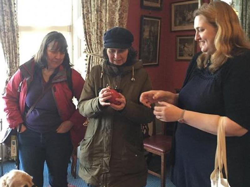 Descriptive Tour of Lauriston Castle for Visually Impaired Visitors