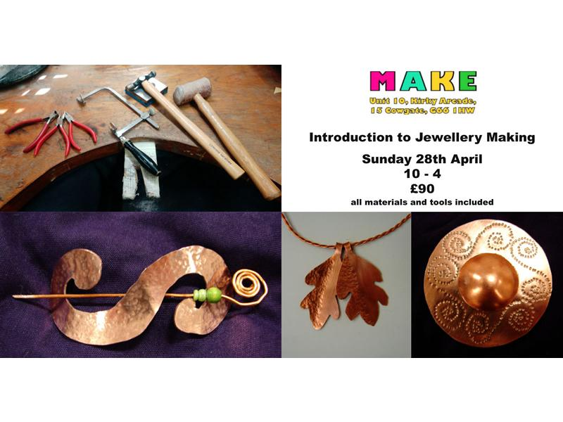 Introduction to Jewellery Making with Marley Cowie