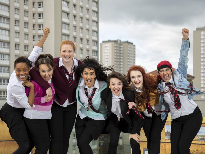 Glasgow Girls to make big stage debut!