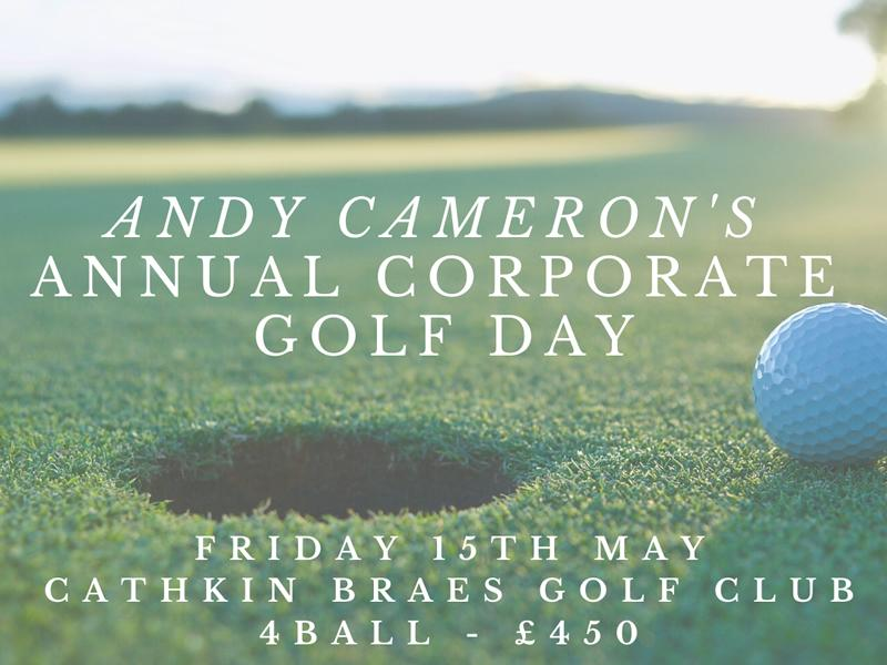 Kilbryde Hospice - Andy Cameron Corporate Golf Day