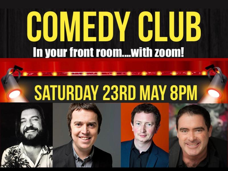 Comedy in your front Room with ZOOM!