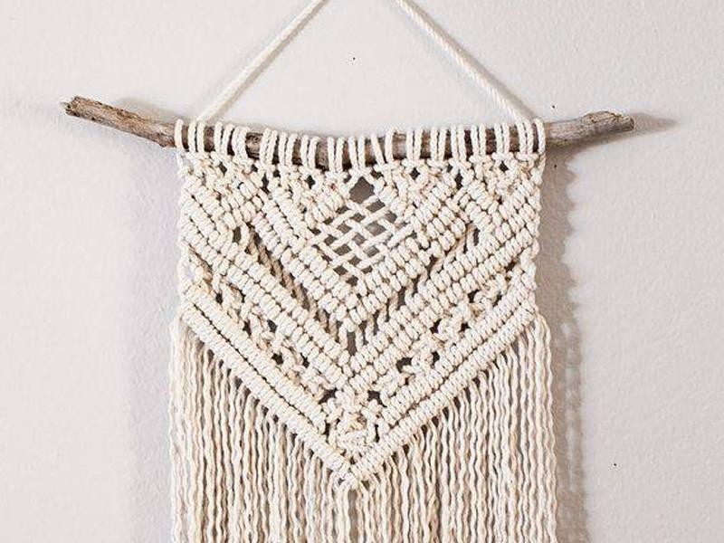 Upcycled Macrame Wall Hanging Workshop