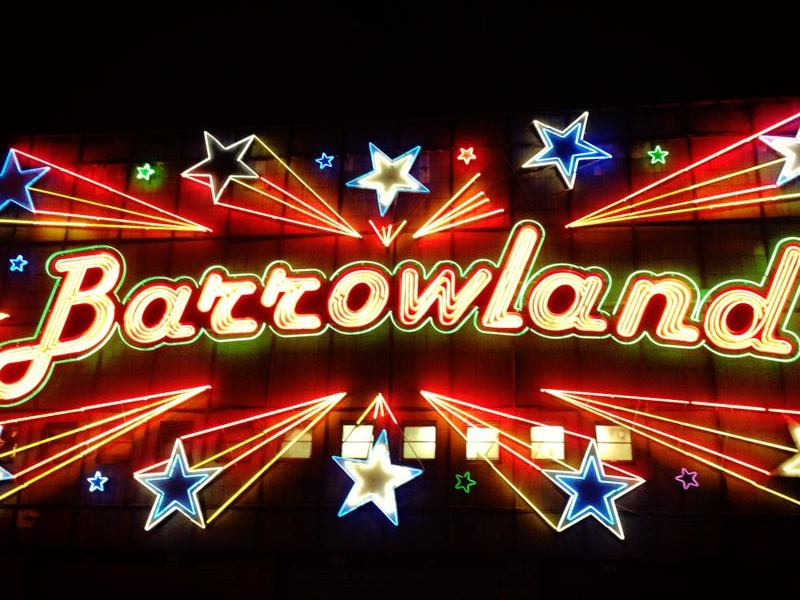 The Glasgow Barrowland Ballroom