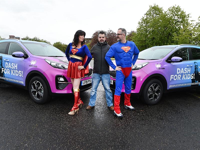 Dash For Kids on Superhero Day