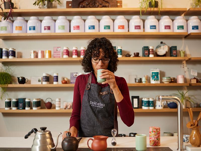 Tea blending returns to Leith, Edinburgh as PekoeTea launches new Tea Studio