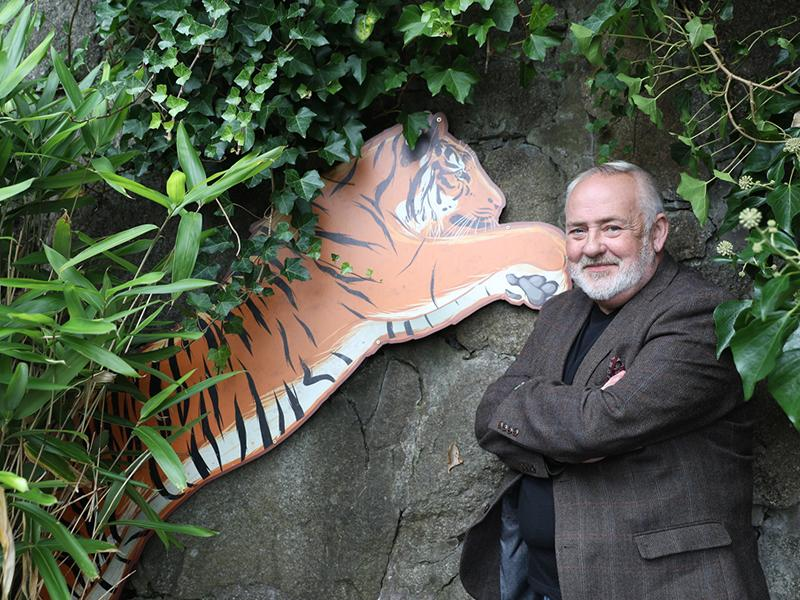 Scottish artist Steven Brown to paint new artwork in support of RZSS