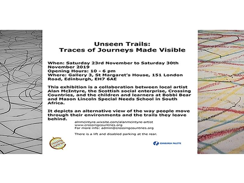 Unseen Trails - Traces of Journeys Made Visible