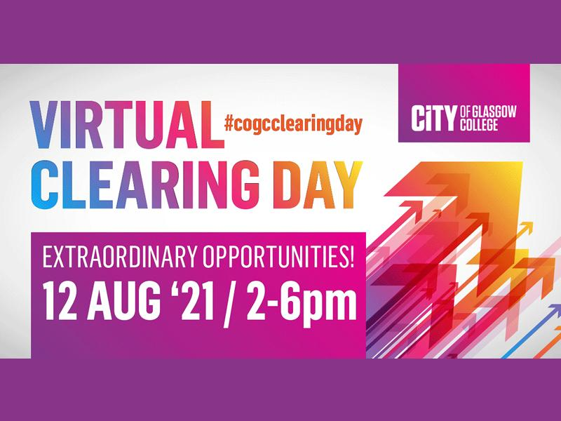 City of Glasgow College - Virtual Clearing Day