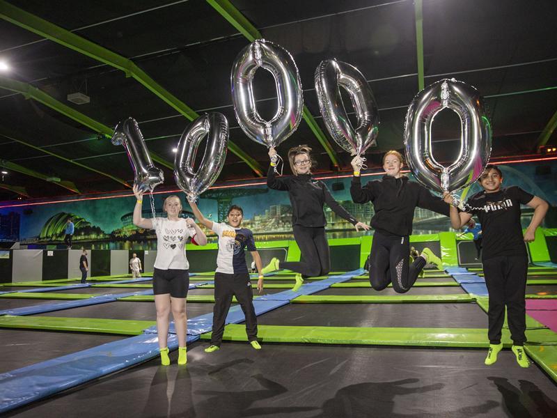 Flip Out announces 10,000 Free School Hours