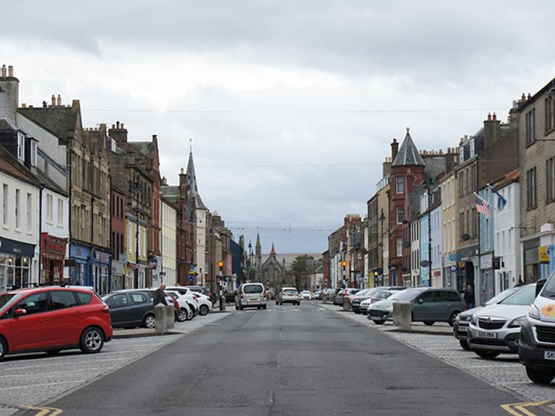 Four and a Half Million Pounds investment for Scottish historic towns and cities