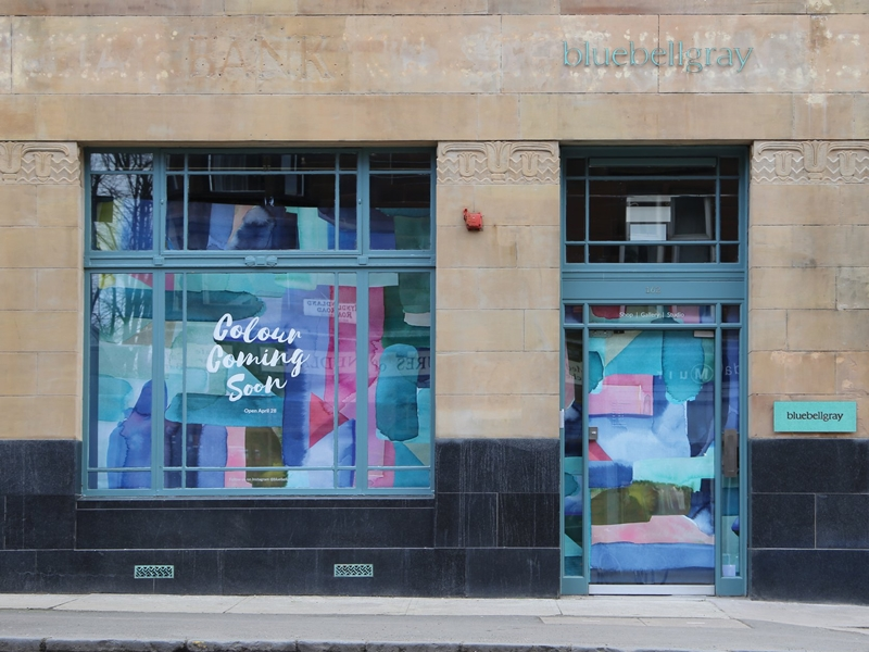 Bluebellgray is opening its very first bricks and mortar store in Glasgow